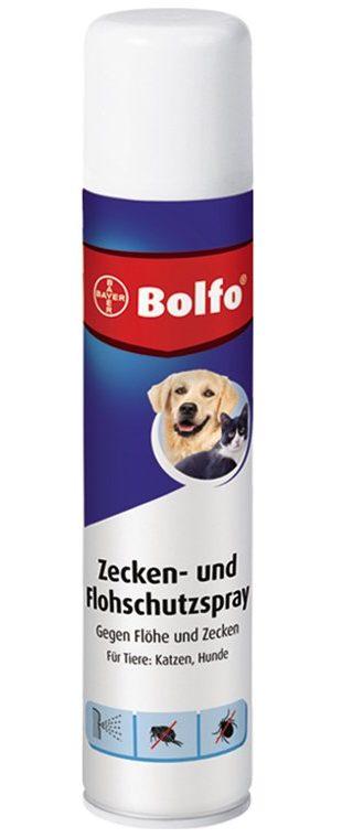 Bolfo Zecken- u. Flohschutzspray.